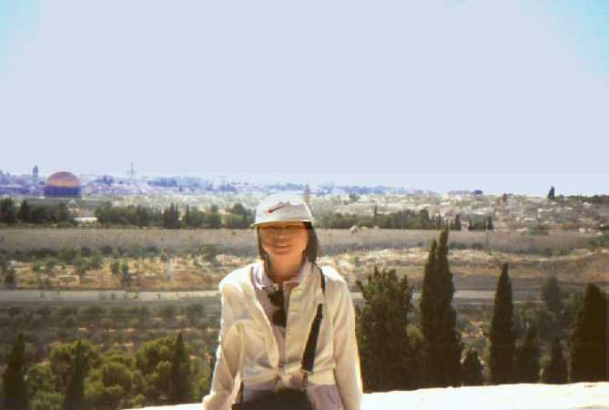 Jerusalem from Mt. Olive