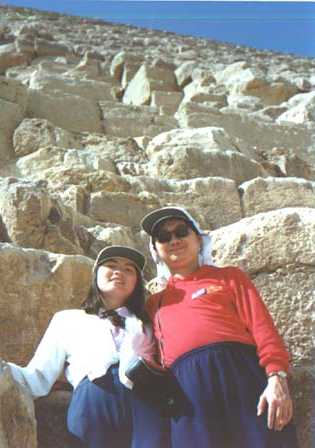 Under the Great Pyramid; Enid & Philip