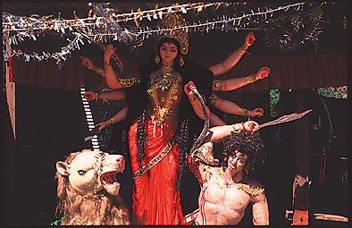 Hindi gods: durga